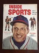 1953, Stan Musial, Inside Sports Magazine No Label Stan The Man