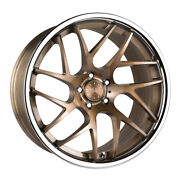 20 Vertini Rf1.4 Forged Bronze Concave Wheels Rims Fits Mercedes W220 S430 S500
