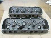 1968 Big Block Chevy Bbc 396 427 Oval Port Heads 3917215 215 A-8-8 A-10-8