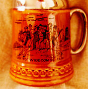 Rare Lord Nelson Pottery Beer Stein Handcrafted With Ironical English Scenes