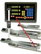4 Axis Dro Mill Package Linear Glass Scales And Digital Scales Digital Readout