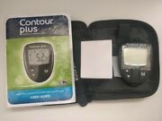 Contour Plus Blood Glucose Diabetic Meter/monitor/system + Test Strips