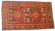 5and039 X 9and039 Russian Karabagh Handmade Hand Knotted Genuine Antique Rug - Mint Huge
