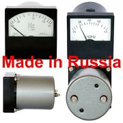 Frequency Meter Ac Russian Analog Panel Meter Class 1.0 Tester 8080mm E80x