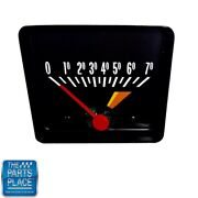 1971-74 Nova Tach Tachometer With White Numbers And Dashes Redline 6000-7000