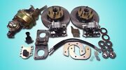 1964 1965 1966 Ford Mustang Power Front Disc Brake Conversion Uses V-8 Spindle