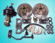 1967-1970 Ford Mustang Power Front Disc Brake Conversion Included Booster Pedal