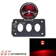 Side Mount License Plate Bracket For Ford Duolamp Model A Led Tail Lights