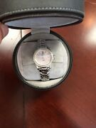 Tag Heuer Link Wj1319.ba0572 Wrist Watch For Ladies Diamond Pearl Face And Box