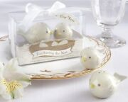 96 Feathering The Nest Bird Salt And Pepper Shakers Baby Shower Party Gift Favors