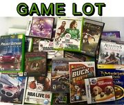 200 Video Games Lot Ps2/ps3/xbox360/xbox/wii/gamecube Mixed Games Wholesale Bulk