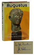 Augustus Signed By John Williams First Edition 1st Printing 1972