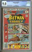 Batman Family 6 Cgc 9.0 Ow/wh Pages