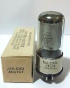 1 Nos National Union Jan 6sg7gt 6sg7 Vacuum Tube Tested New On Calibrated Hickok