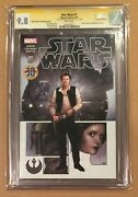 Star Wars 1 • Cgc Ss 9.8 • Marvel Comics • Signed Harrison Ford • Han Solo