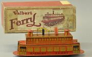Walbert Ferry Boat Vintage Wind Up Toy Rare
