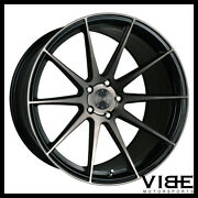 22 Vertini Rf1.3 Black Forged Concave Wheels Rims Fits Jeep Grand Cherokee Srt