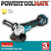 Makita Dga517z Angle Grinder 18v Body Only 125mm Paddle Switch