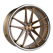 20 Vertini Rf1.5 Forged Bronze Concave Wheels Rims Fits Audi C7 A6
