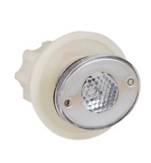 Marine Boat Amber Led Bait Well Courtesy Light With Prismatic Lens Watertight