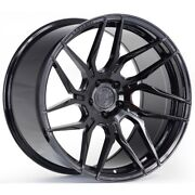 21x9 Rohana Rfx7 5x130 +42 Gloss Black Wheels Set Of 4