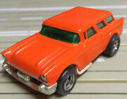 For H0 Slotcar Racing Model Railway Seltenerandacute 57er Chevy Nomad With Afx Motor