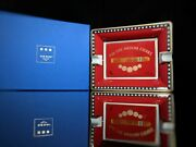 Elie Bleu Medals Red Ashtray New In The Original Box Made In France