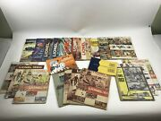 Vintage 1950and039s And 1960and039s Lionel Train Dealer Train Parts Accessories Catalog