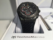 New - Watch Technomarine Cruise 1 25/32in Carbon Ref. 113001 - Box And Papers