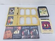 Elvis Presley Factory Sealed 8-track And Cassettes Music Tape Lot
