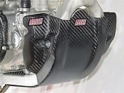 Carbon Fiber Glide Plate With Case Guard Lightspeed 331-00310 For Yamaha Yz250f