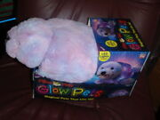 Pillow Pets Glow Pets - Shimmering Seal Lite Up Led Lights Inside. New In Box