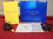 Playstation 2 Console European Auto Color Collection Light Yellow Us Version