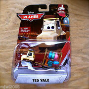 Disney Planes Ted Yale Grand Fusel Lodge Theme Diecast Luggage Cart Fire Rescue