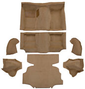 1975-1976 Fits Nissan 280z Carpet | Complete W/wheel Wells And Shock Covers
