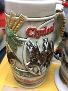 Lot Of 23 Budweiser Holiday Steins 1983 Thru 2010 Years Listed