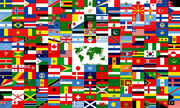 12x18 Stick Flag United Nations Member Set Flags International 193 Un Countries