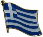 Wholesale Pack Of 50 Greece Country Flag Bike Hat Cap Lapel Pin