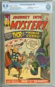 Journey Into Mystery 98 Cbcs 8.0 Ow Pages