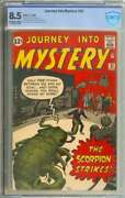 Journey Into Mystery 82 Cbcs 8.5 Ow/wh Pages