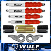3 Front 3 Rear Lift Kit W/ Shocks For 1988-1999 Chevy K2500 K3500 4x4 4wd