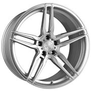 20 Vertini Rf1.6 Forged Silver Concave Wheels Rims Fits Bmw F32 428i 435i