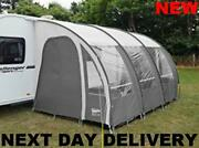 New 2021 Charcoal Ontario 390 Ultimaand039te Caravan Porch Awning +uprights And Pads