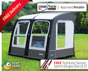 New 2021 Camptech Starline 300 Inflatable Caravan Porch Awning Free Storm Straps