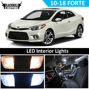 White Led Interior Light Accessory Package Kit Map Dome For 2010-2018 Kia Forte