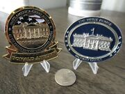 Lot Of 2 Challenge Coins President Donald Trump Maga And Spinning White House Whmo