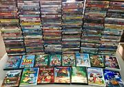 Wholesale Lot Of 1000 Assorted Kids,cartoons,family Dvds,dvds Movies,t.v. Shows
