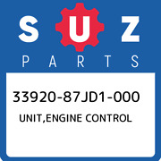 33920-87jd1-000 Suzuki Unitengine Control 3392087jd1000 New Genuine Oem Part