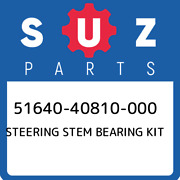 51640-40810-000 Suzuki Steering Stem Bearing Kit 5164040810000 New Genuine Oem