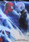 The Amazing Spiderman 2-face Off- Poster-laminated Available-90cm X 60cm-bran...